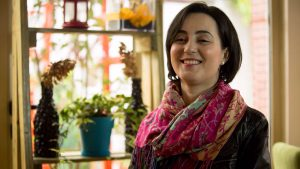 Suela Lala, interviste per Citizens Channe. Personat me aftesi te kufizuara