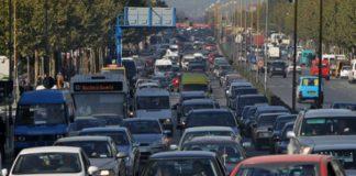 Trafiku, nje nga ndotesit kryesore te mjedisit ne Tirane. Citizens Channel