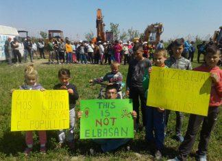 Protesta e banoreve të Vërrisë. Citizens Channel