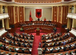 Citizens Channel Parlamenti i Shqiperise Deputet Edi Rama PS Sali Berisha