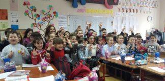 Klasë në shkollën 9 vjeçare Emin Duraku. Foto: E. K / Citzens Channel