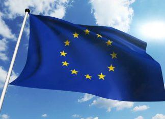 Në foto, flamuri i Bashkimit Evropian. Burimi: shutterstock.com