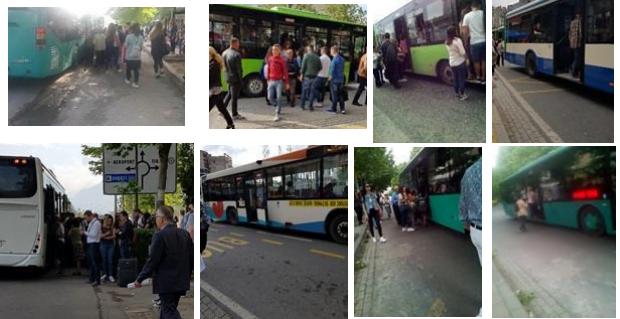 10 premtimet për transportin publik në Tiranë përballë vëzhgimit në realitet
