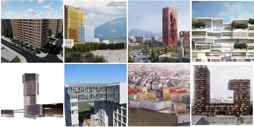 Tirana e 2018: 80% më shumë sipërfaqe të lejeve të ndërtimit