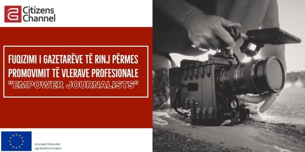 """Trajnim: """"Fuqizimi i gazetarëve të rinj përmes promovimit të vlerave profesionale"""""""